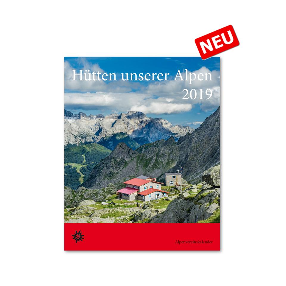 ROTHER Hütten unserer Alpen 2019