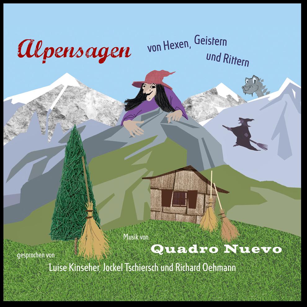 QUADRO NUEVO Alpensagen – von Hexen, Geistern & Rittern CD