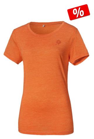 Merino Shirt Frauenl - Racer Orange