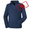 Männer Long Sleeve Quarter Zip - Dress Blue title=