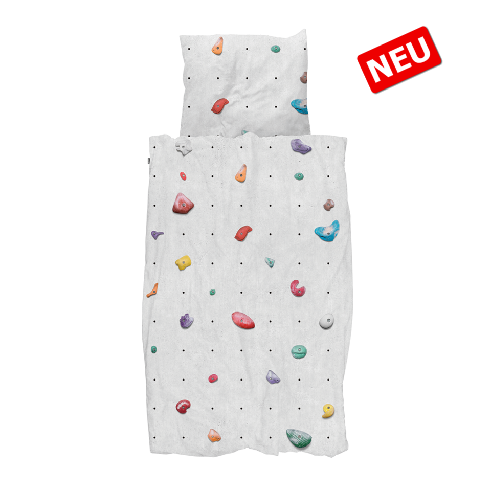 "SNURK ""Climbing Wall"" Bettwäsche Set"