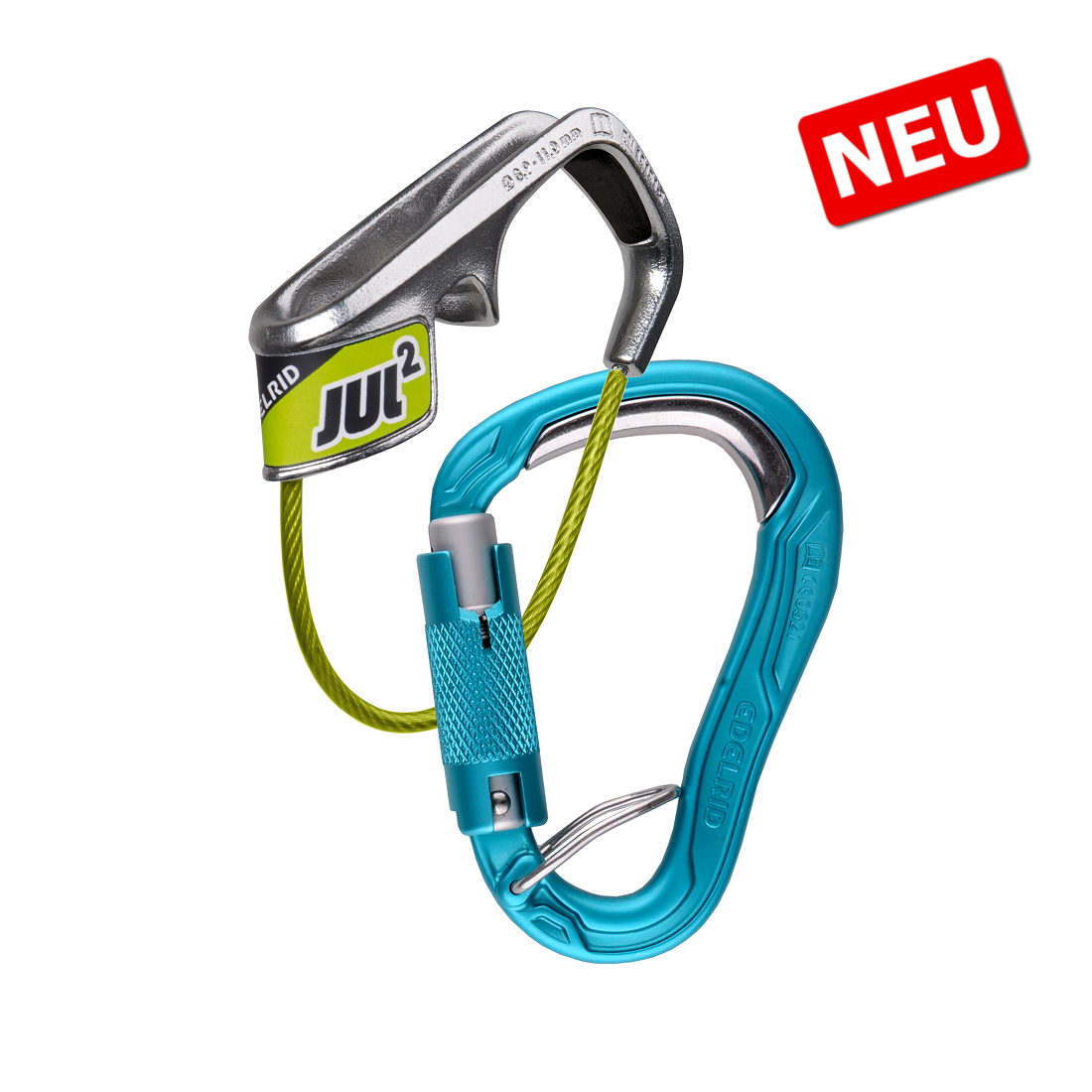 EDELRID Jul 2 Belay Kit bulletproof triple Sicherungsset