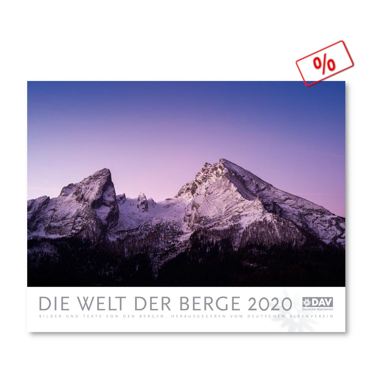DAV Die Welt der Berge 2020 Kalender