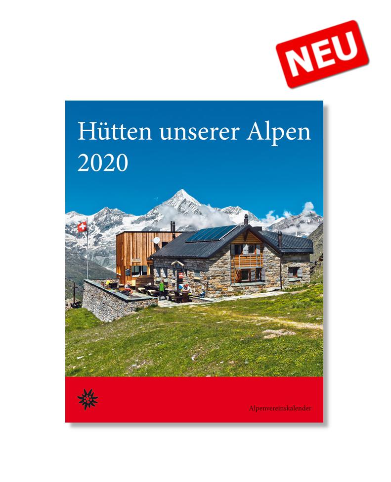 ROTHER Hütten unserer Alpen 2020