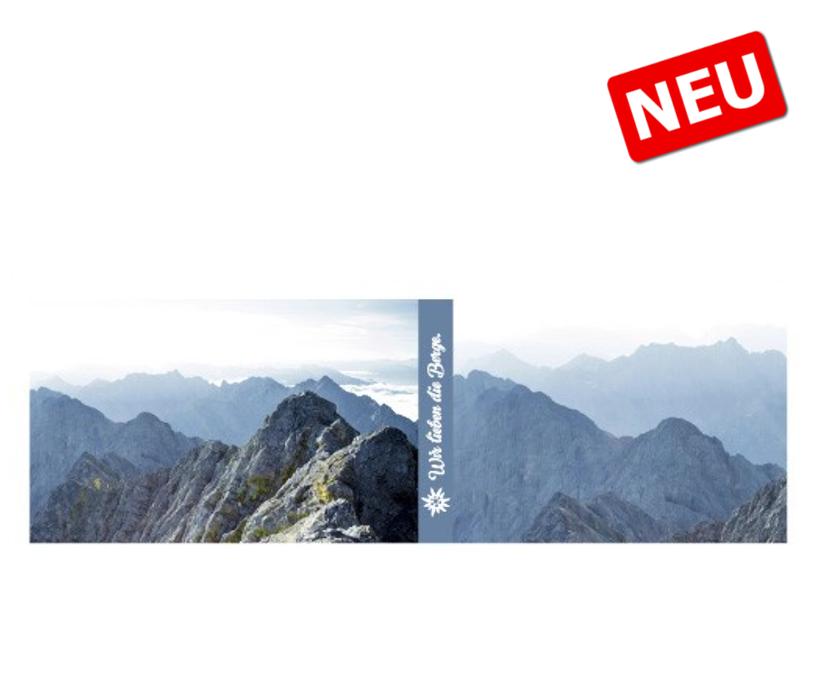 "Höhenrausch Stirnband ""Bergblau"""