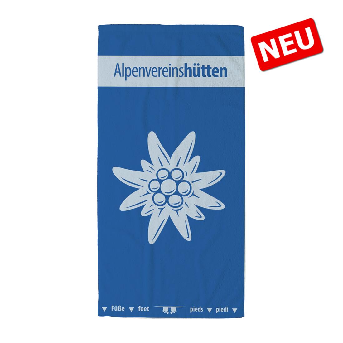 """DAV Badetuch """"AV-Hüttendesign"""""""