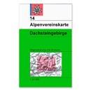 AV 14 Alpenvereinskarte WEG+SKI