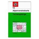 AV 13 Alpenvereinskarte WEG